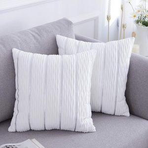 Crushed Velvet Pillow Covers